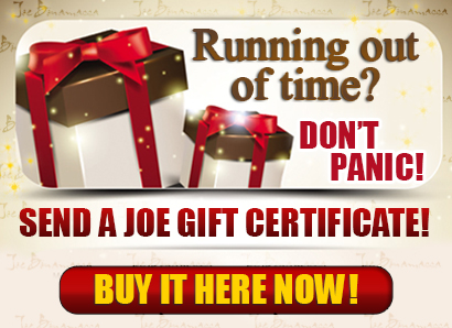 Don't Panic! Give a Joe Gift Certificate. Click here